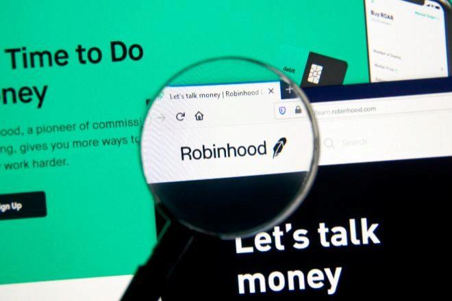 La app de trading Robinhood