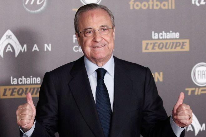 """Florentino Pérez: """"Estamos todos arruinados, hacemos la Superliga para salvar el fútbol"""""""