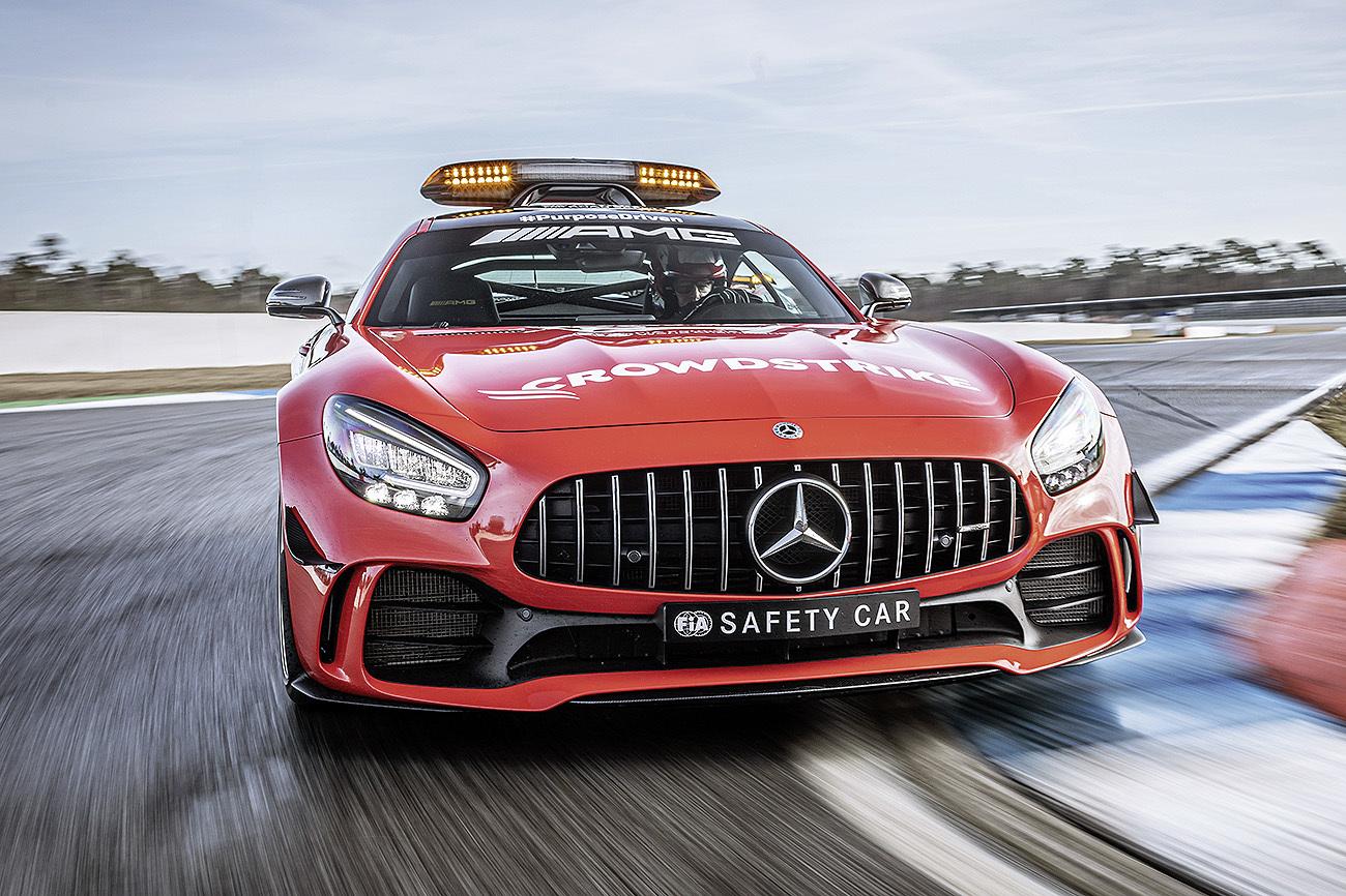 Ver un Mercedes como Safety Car en la Fórmula 1 es tan habitual ya...