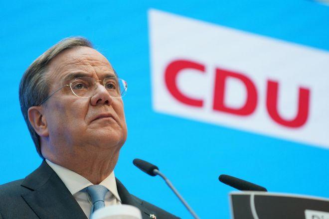 Armin Laschet, líder de la CDU y candidato a suceder a Merkel.