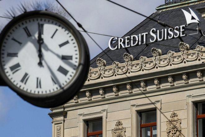 Sede de Credit Suisse en Zúrich.