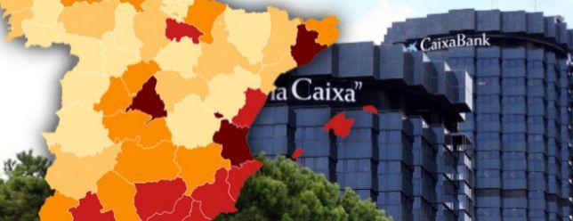 Así afecta el ERE de CaixaBank por provincias