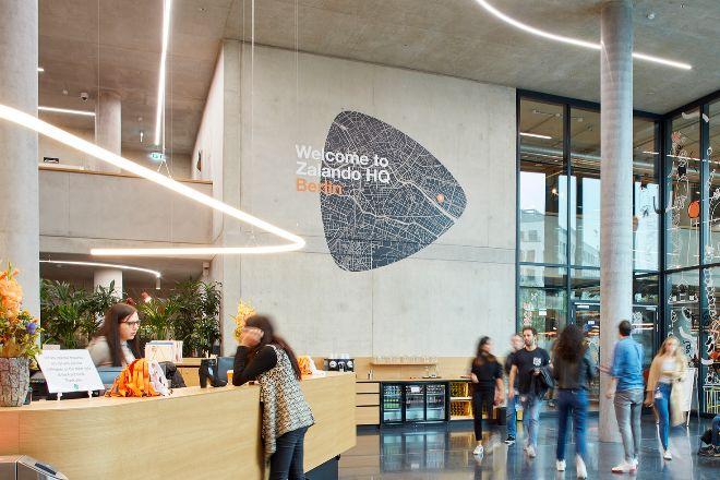 Sede de Zalando en Berlín, Alemania