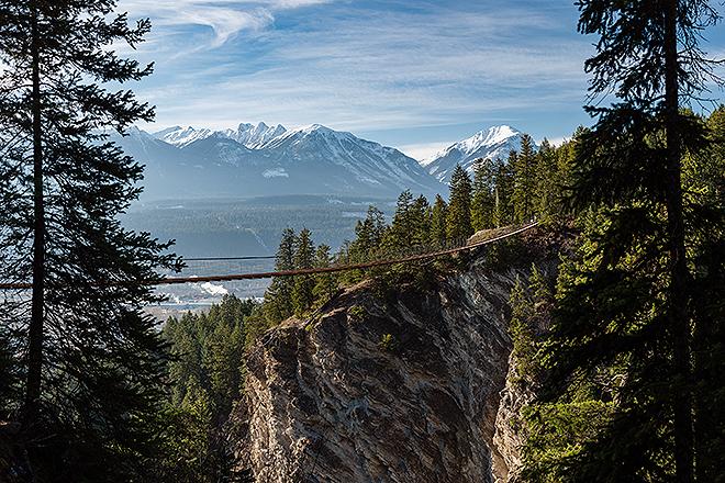 La nueva atracción está ubicada en un paisaje montañoso entre parques nacionales.
