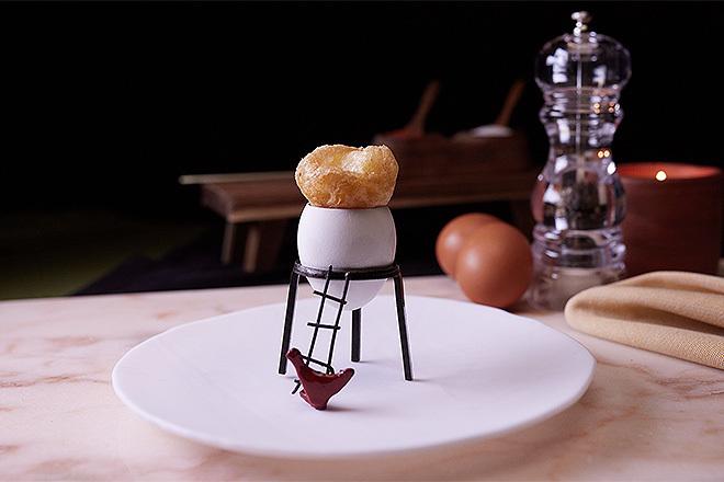 Receta de los chef de Disfrutar para su curso de cocina creativa en Talent Class.
