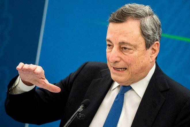 El primer ministro de Italia, Mario Draghi.