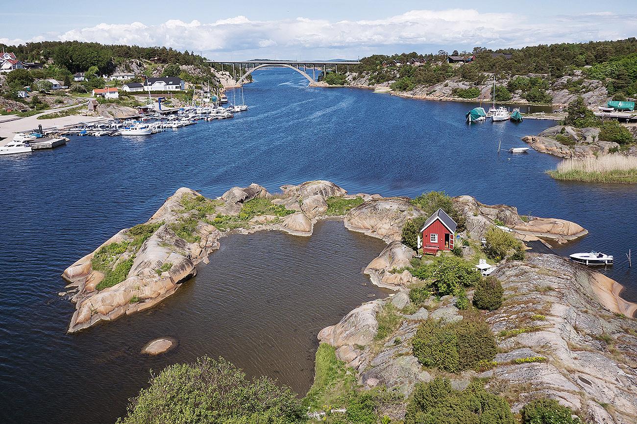 Esta isla privada se encuentra en el precioso archipiélago de Hvaler...