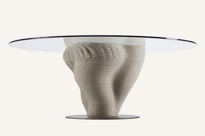 Mesa Corail redonda de 1,60 de diámetro, desde 6.850 euros.
