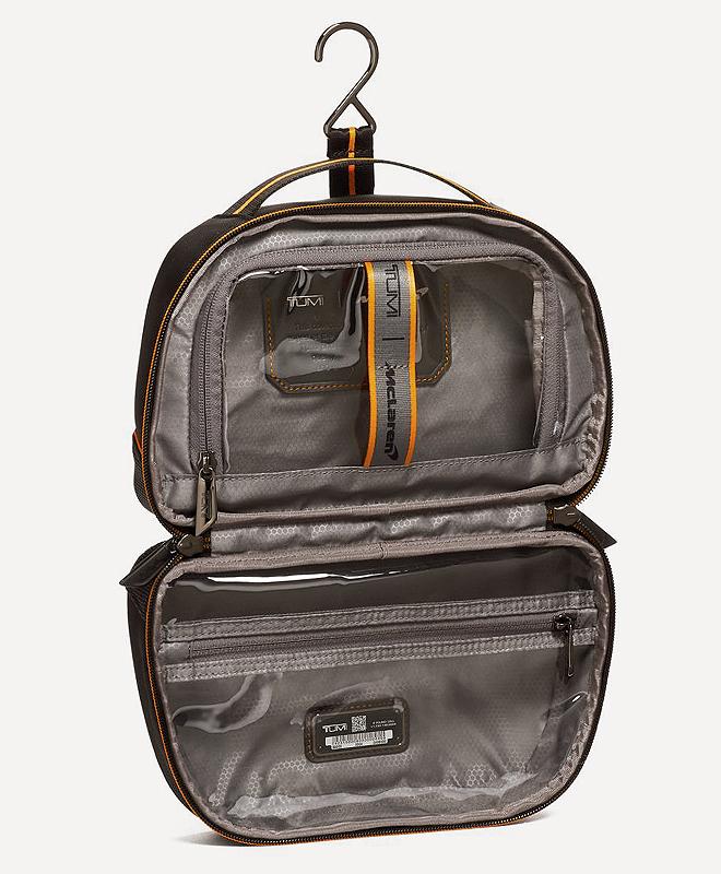 Kit de viaje Teron. 16 x 9,5 x 25 cm. 225 euros.
