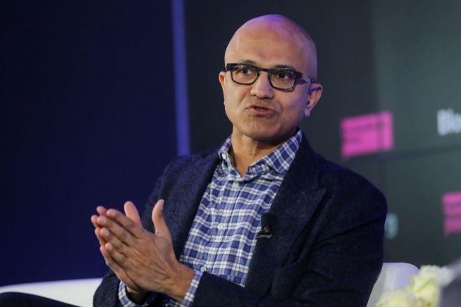 El consejero delegado de Microsoft, Satya Nadella.