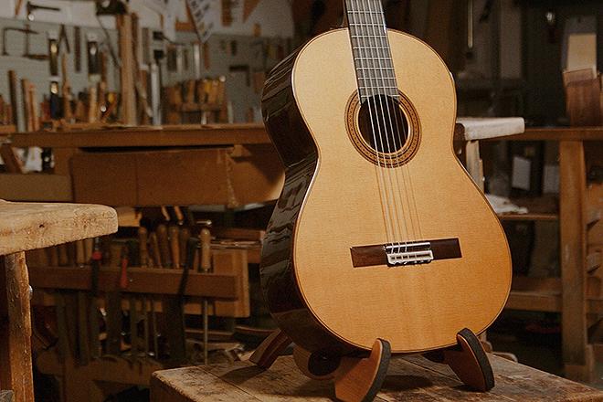 Guitarras Ramírez, taller datado en 1882.
