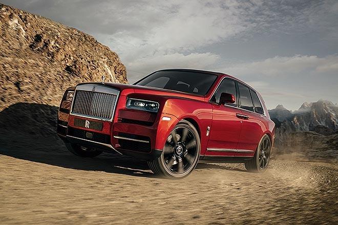 Rolls-Royce Cullinan, SUV del fabricante británico entre sus modelos más vendidos en el primer trimestre de 2021.