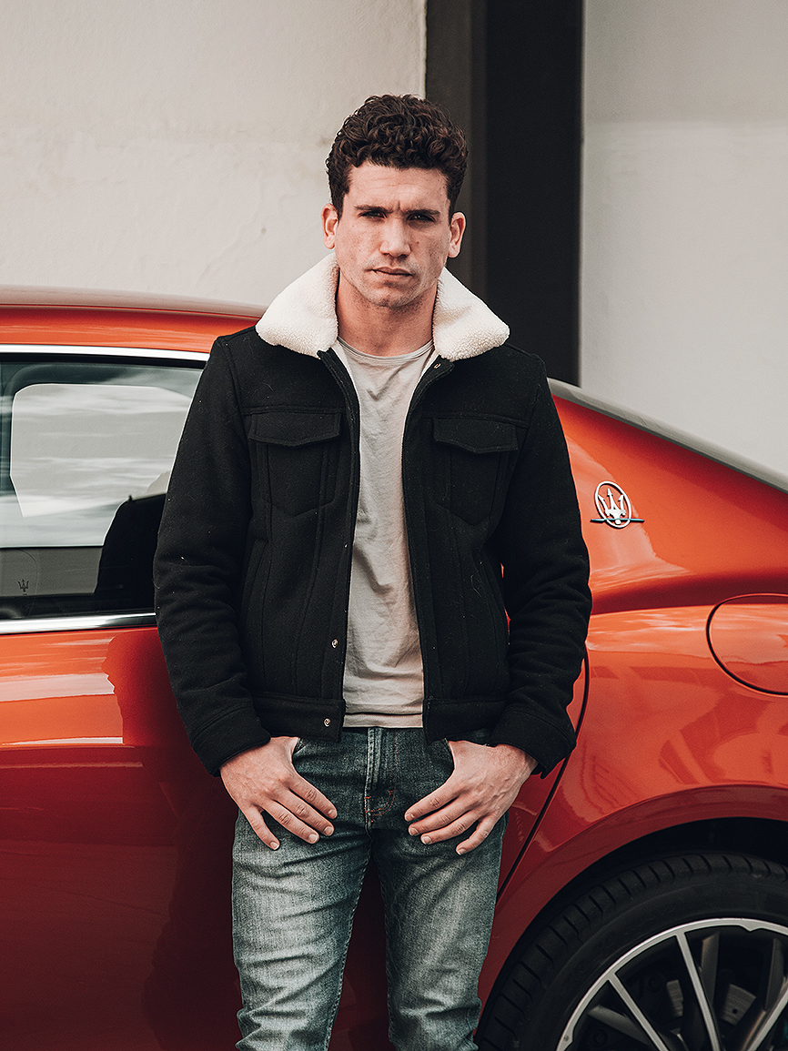 La colaboración entre Jaime Lorente, alias Denver, y el Maserati...