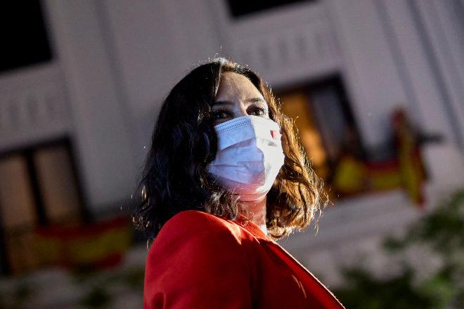 La presidenta reelecta de la Comunidad de Madrid, Isabel Díaz Ayuso.