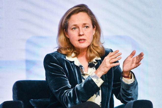 Nadia Calviño, vicepresidenta primera del Gobierno y ministra de Economía.