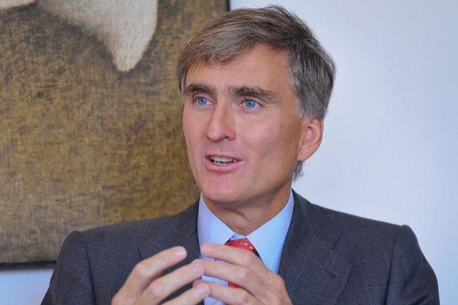 Francisco García Paramés, presidente de Cobas AM.
