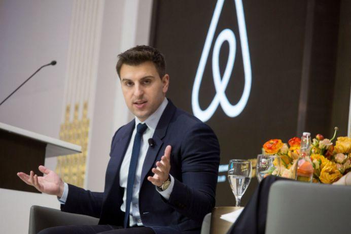 El cofundador y consejero delegado de Airbnb, Brian Chesky.