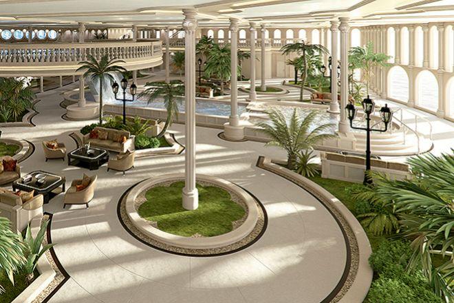El Oasis, cuenta con spa, piscinas, jardines, salón de belleza...