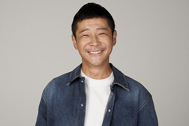 El empresario japonés Yusaku Maezawa, de 45 años.