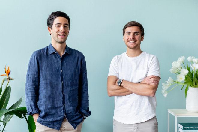 Andrés Cester (izqda.)y Sergi Bastardas dirigen la compañía que crearon en 2017.