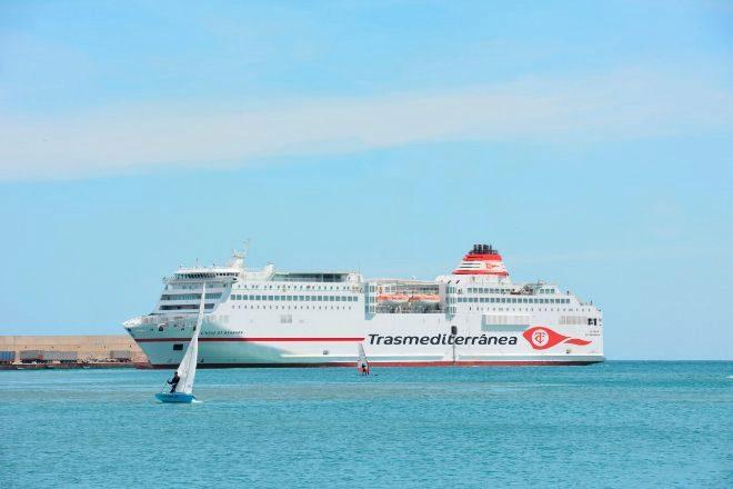 El 'Ciudad de Granada' es uno de los buques en los que está interesado Grimaldi.