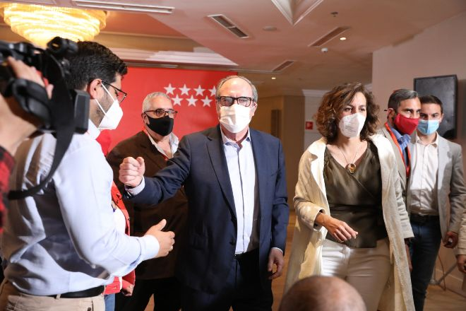 El candidato del PSOE a la Presidencia de la Comunidad de Madrid,Ángel Gabilondo.