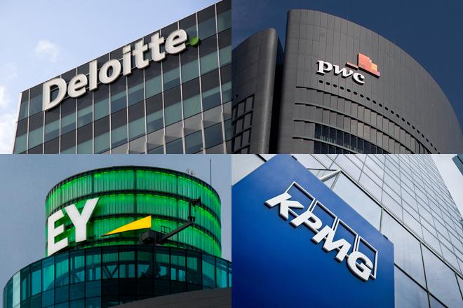 Deloitte, PwC, EY y KPMG facturan un 4% más tras ralentizar su crecimiento por el Covid