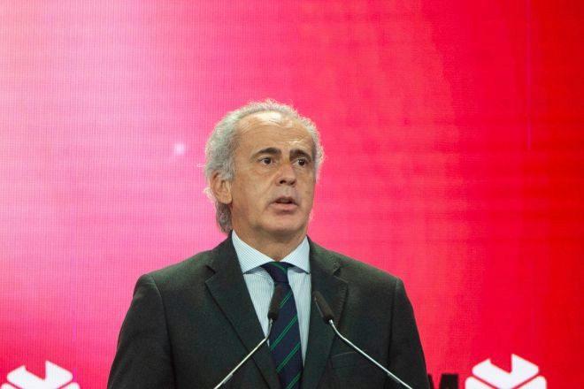 El consejero de Sanidad en la Comunidad de Madrid, Enrique Ruiz Escudero.