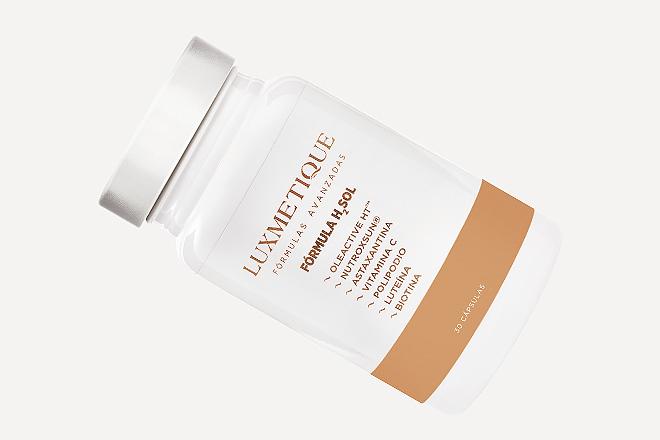 Fórmula H2SOL (33,50 euros, 30 cápsulas), actúa antes, durante y después de la exposición solar para a proteger nuestra piel desde el interior de los efectos nocivos del sol.