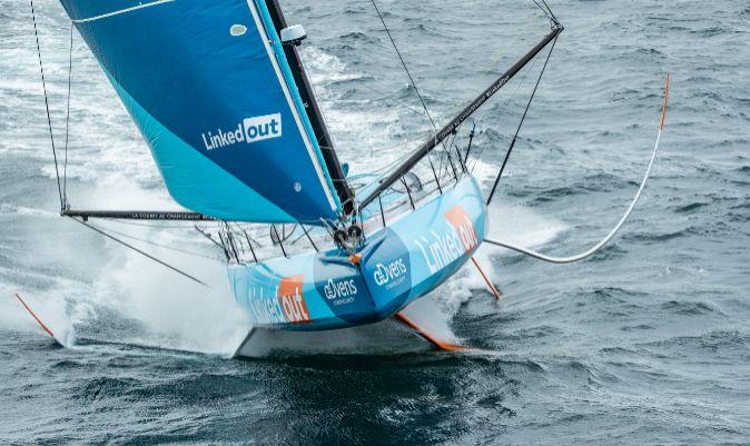 IMOCA LinkedOut. | Pierre Bouras / TR Racing