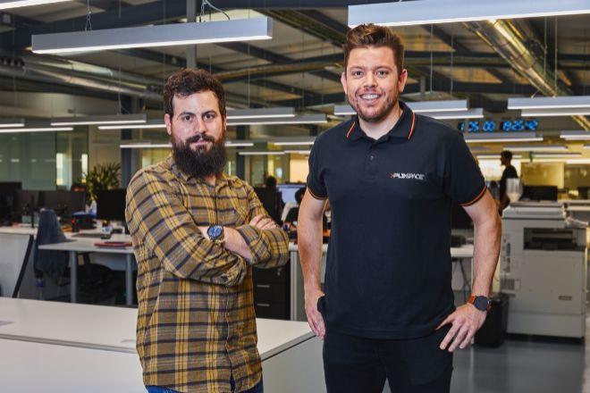 Raúl Torres y Raúl Verdú, cofundadores de PLD Space, firma con sede en Elche.