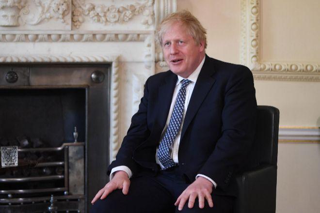 Boris Johnson es el primer ministro británico.