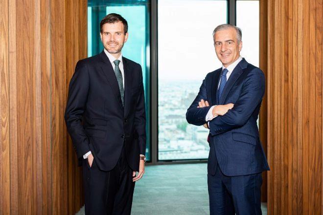 De izquierda a derecha, Manuel Gener y David Samu.