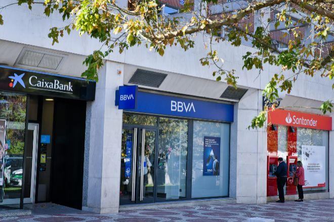 Santander, BBVA y CaixaBank logran récord histórico de solvencia