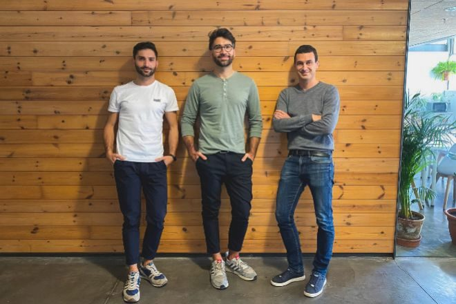 Los fundadores de StockAgile: Joan Subirats, CTO; Miquel Subirats, CEO; y Oriol Vinzia, director de Ventas.