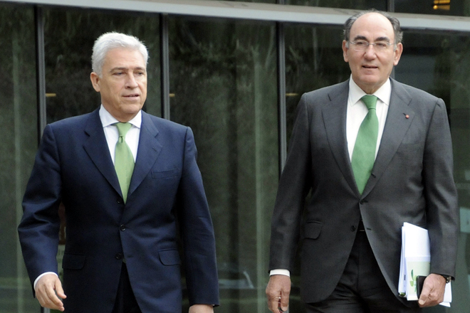 Francisco Martínez Córcoles e Ignacio Sánchez Galán.