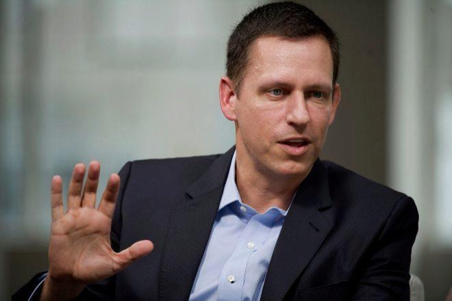 Peter Thiel, cofundador de PayPal, en una entrevista en San Francisco, California.