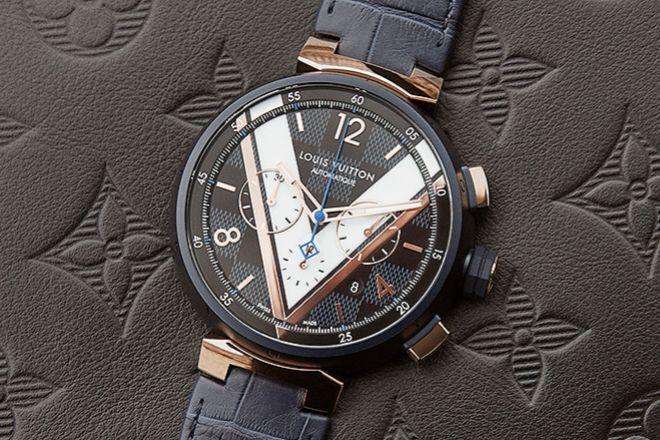 Tambour Damier Cobalt chronograph, a partir de 6.220 euros.