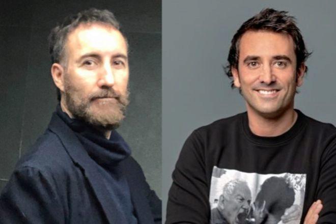El empresario Mario Losantos y Xabi Uribe-Etxebarria, fundador y CEO de Sherpa.ai.