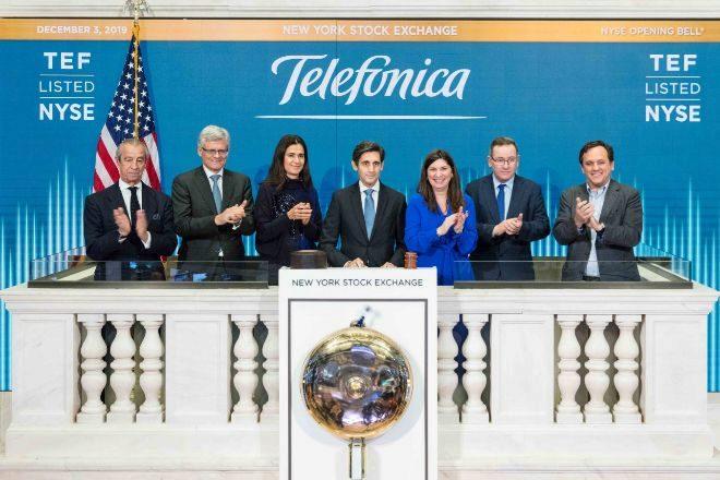 Telefónica confirma dividendo y objetivos anuales