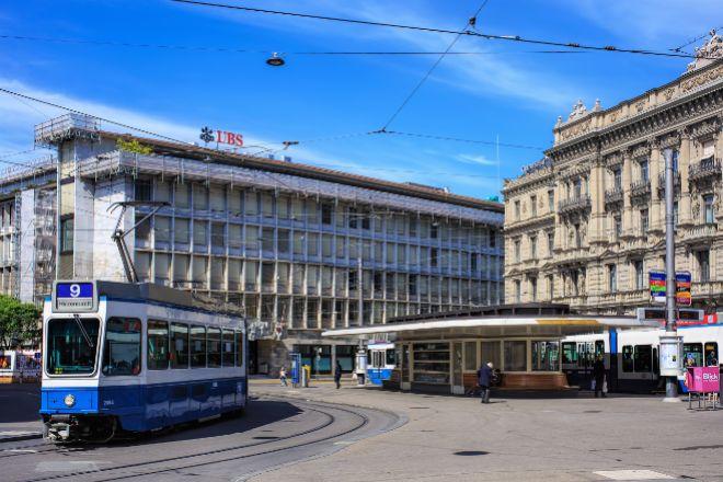 Sede de UBS en Zúrich.