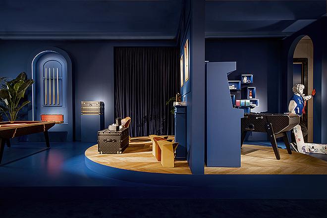 Galería Canalejas es el escenario donde están expuestos los objetos de Louis Vuitton.