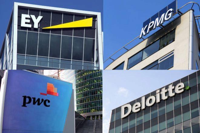 Las 'Big Four' son las cuatro grandes auditoras del mundo: EY, KPMG, PwC Y Deloitte.