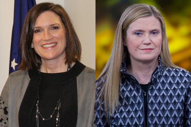 Jennifer Piepszak y Marianne Lake.