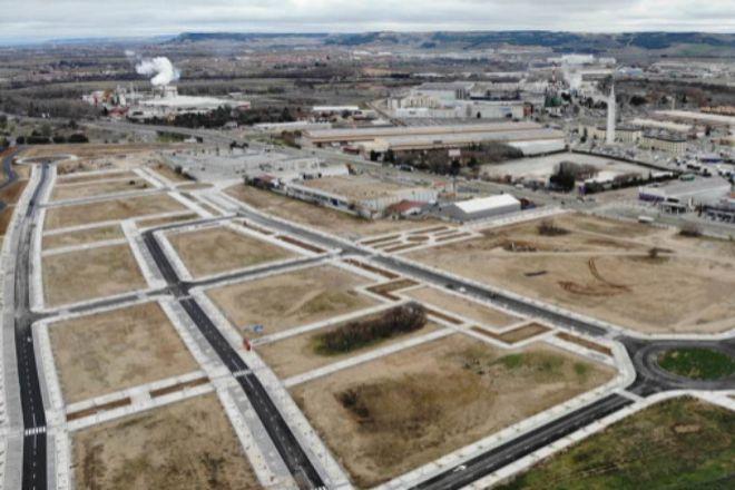 Imagen de la parcela de 6.000 m² en Valladolid.