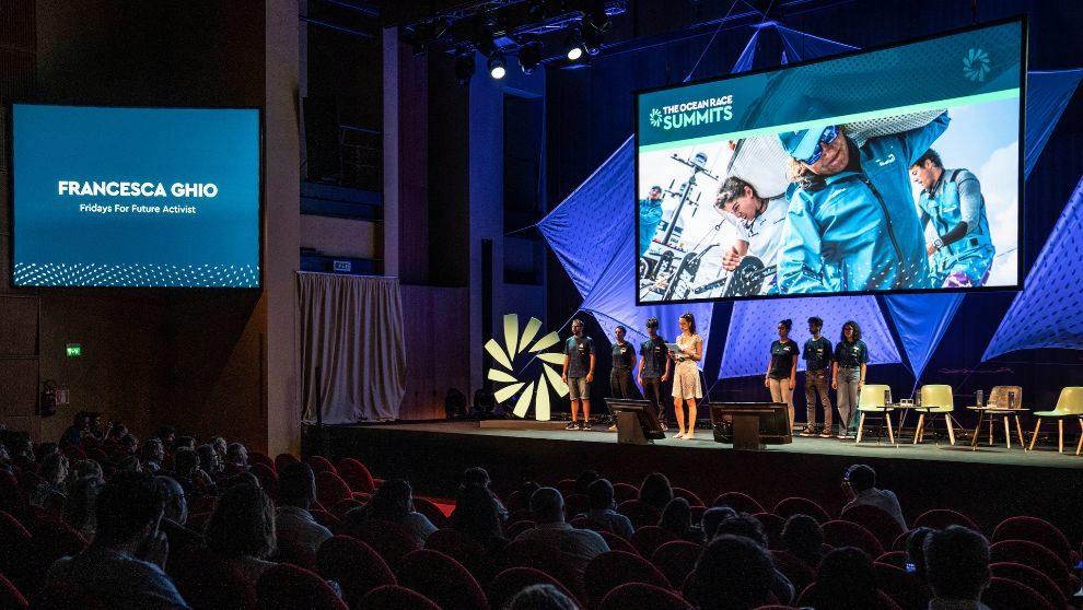 The Ocean Race Summit de Génova, en septiembre de 2919.   AINHOA...