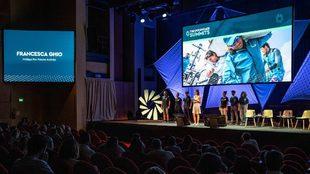 The Ocean Race Summit de Génova, en septiembre de 2919. | AINHOA...