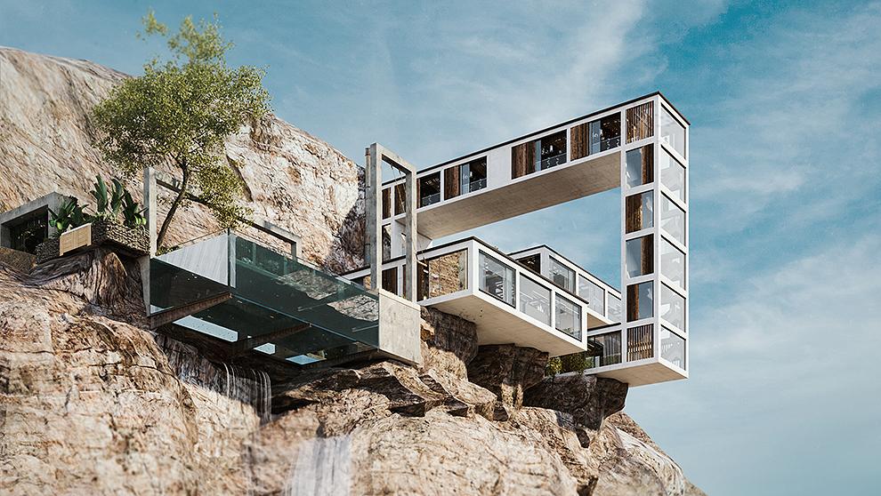 mountain house.