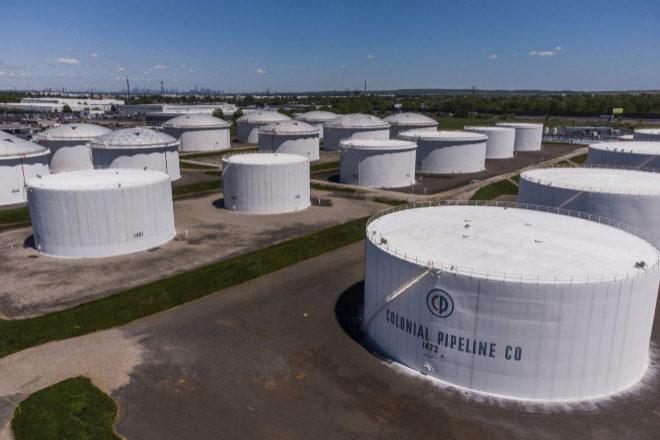 Instalaciones de Colonial, cuya red de oleoductos suministra petróleo a las grandes ciudades del Este de EEUU.