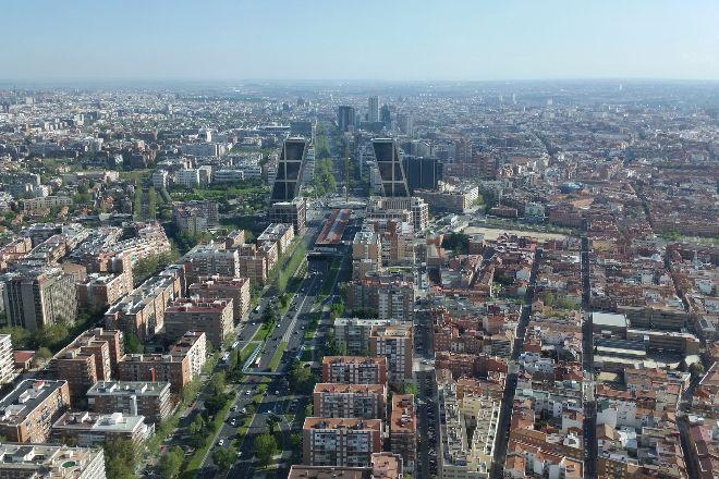 Vista panorámica de Madrid.